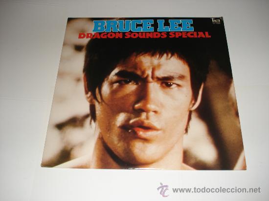 BRUCE LEE / DRAGON SOUNDS SPECIAL - LP AUDIÓFILOS JAPÓN CON POSTER DE GAME OF DEATH!!!! (Música - Discos - LP Vinilo - Bandas Sonoras y Música de Actores )