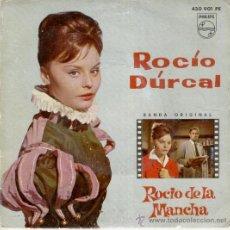 Discos de vinilo: ROCIO DURCAL - DEL FILM : ROCIO DE LA MANCHA - VIVA BUFALO BILL + 3 - EP 1963. Lote 27285826