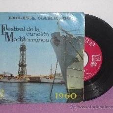 Discos de vinilo: EP DE LOLITA GARRIDO ... 2º FESTIVAL DE LA CANCION MEDITERRANEA ** ZAFIRO - AÑO 1960. Lote 26575907