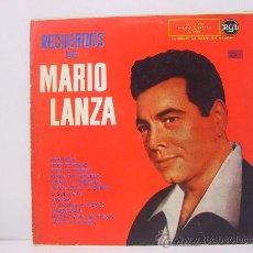 Discos de vinilo: MARIO LANZA - RECUERDOS DE ... - RCA 1959. Lote 24432791