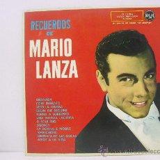 Discos de vinilo: MARIO LANZA - RECUERDOS DE ... - RCA 1961. Lote 24432851