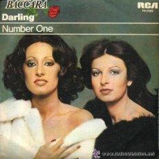 Discos de vinilo: BACCARA-DARLING. Lote 25401670
