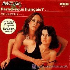 Discos de vinilo: BACCARA PARLEZ VOUS FRANCAIS? LUXEMBURGO 1978 EUROVISION. Lote 32207018