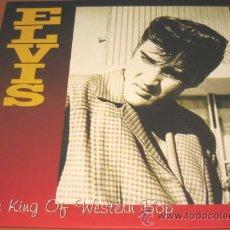 Discos de vinilo: ELVIS PRESLEY - THE KING OF WESTERN BOP - 2 LP - REV OLA 2005 LP REV 98 - COMO NUEVO / N MINT. Lote 24449543