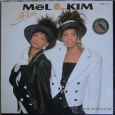 Discos de vinilo: MEL & KIM - F.L.M. - MAXI 1987. Lote 24453914