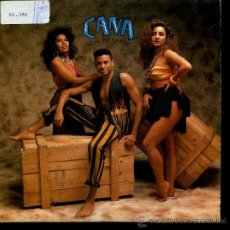 Discos de vinilo: CAÑA - ECHA PA'LANTE - SINGLE 1991 - PROMO. Lote 24481546