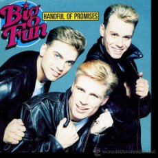 Discos de vinilo: BIG FUN - HANDFUL OF PROMISES / CATCH A BROKEN HEART - SINGLE 1990. Lote 24485627