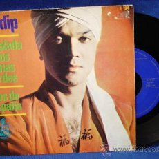 Discos de vinilo: - KULDIP - LA BALADA DE LOS BOINAS VERDES/ OJOS DE ESPAÑA- HISPAVOX 1966. Lote 24744755