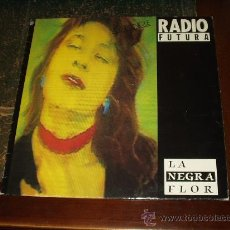 Discos de vinil: RADIO FUTURA MAXI LA NEGRA FLOR. Lote 24466313