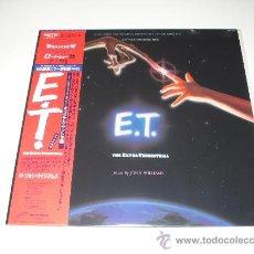 Discos de vinilo: JOHN WILLIAMS / E.T. - OST - STEVEN SPIELBERG - LP AUDIÓFILOS JAPÓN CON OBI Y LIBRETO!!! PERFECTO!!!. Lote 25908837