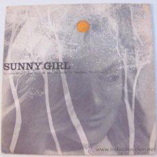 Discos de vinil: SUNNY GIRL - JOHN BARRY - FLEXI SINGLE HOLANDES ANUNCIO SHAMPOO SUNSILK. Lote 24483174