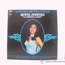 Discos de vinilo: QUETA JIMENEZ - AMANTES DE UNA NOCHE - RARO ORIGINAL MEJICANO - RCA 1979. Lote 24498440