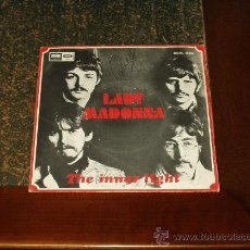 Discos de vinilo: BEATLES SINGLE LADY MADONNA. Lote 27447497