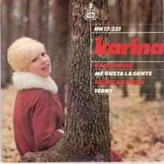 Discos de vinil: KARINA - MUÑECA DE CERA + 3 (EP DE 4 CANCIONES) HISPAVOX 1965 - EX/VG++. Lote 26139147
