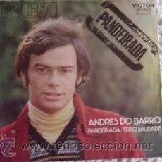 Discos de vinilo: ANDRES DO BARRO - PANDEIRADA - SINGLE 7