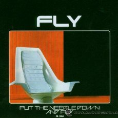 Discos de vinilo: LP FLY PUT THE NEEDLE DOWN AND FLY SYNTH KRAUT PRIMAL SCREAM FELT. Lote 73740947
