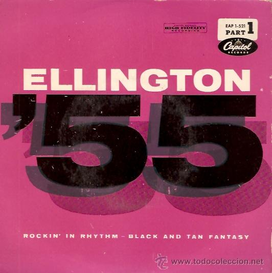 SINGLE DUKE ELLINGTON - ROCKIN IN RHYTHIM EDITADO EN ESPAÑA (Música - Discos - Singles Vinilo - Jazz, Jazz-Rock, Blues y R&B)
