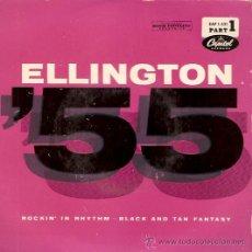 Discos de vinilo: SINGLE DUKE ELLINGTON - ROCKIN IN RHYTHIM EDITADO EN ESPAÑA . Lote 24594508