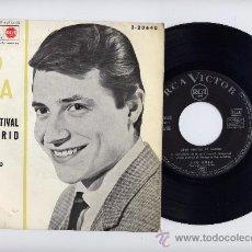 Discos de vinilo: TITO MORA. EP 45 RPM. CONTIGO SI + 3. RCA VICTOR 1963. Lote 26087414