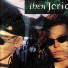 Discos de vinilo: THEN JERICO MARK SWAN AUTOGRAFO FIRMADO ORIGINAL GIRA ESPAÑA 1995. Lote 27362624