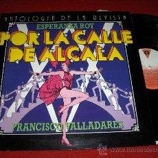 Discos de vinilo: FRANCISCO VALLADARES ANTOLOGIA DE LA REVISTA LP 1983 DISCOS VICTORIA MARTA VALVERDE ROSA VALENTY. Lote 26167715