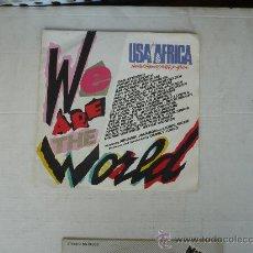 Discos de vinilo: QUINCY JONES WE ARE THE WORLD . Lote 26645712