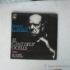 Discos de vinilo: ST MARTI DEL CANIGO EL CANT DELS OCELLS. Lote 26780790