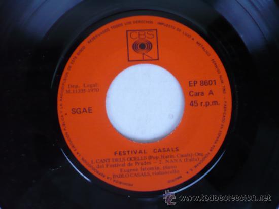 Discos de vinilo: ST MARTI DEL CANIGO EL CANT DELS OCELLS - Foto 3 - 26780790