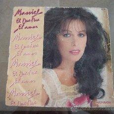 Discos de vinilo: MASSIEL - SINGLE VINILO HISPAVOX 1981 - EL NOA-NOA -- EL AMOR. Lote 24617784