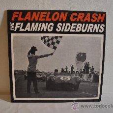 Discos de vinilo: THE FLAMING SIDEBURNS - FLANELON CRASH . Lote 24633390