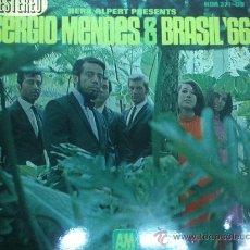 Discos de vinilo: LP SERGIO MENDES - BRASIL 66 EDITADO EN ESPAÑA POR HISPAVOX. Lote 24639734