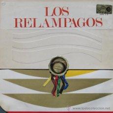Discos de vinilo: LOS RELAMPAGOS 6 PISTAS 1 ZAFIRO 1966. Lote 27991259