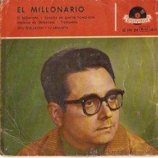 Discos de vinilo: EP KURT EDELHAGEN Y SU ORQUESTA - EL MILLONARIO. Lote 24661964