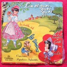 Discos de vinilo: SINGLE - 6 CANCIONES INFANTILES - AÑOS 60. Lote 24664919