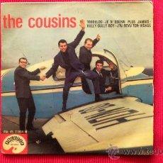 Discos de vinilo: THE COUSINS - FABRICADO EN MADAGASCAR - EDICION FRANCESA. Lote 24675211