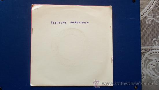 LUIS OLIVARES - FESTIVAL DE EUROVISION AÑO 1966 - (Música - Discos - Singles Vinilo - Festival de Eurovisión)