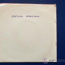 Discos de vinilo: LUIS OLIVARES - FESTIVAL DE EUROVISION AÑO 1966 - . Lote 30509175