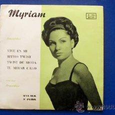 Dischi in vinile: MYRIAM Y LAS ORQUESTAS VILMA Y PEÑA - AÑO 1963. Lote 24681891
