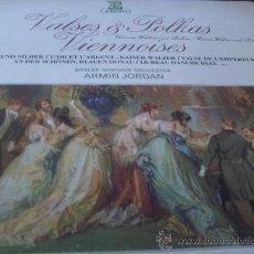 Discos de vinilo: VALSES Y POLCAS VIENESES.- .- DIR.-ARMIN JORDAN . Lote 24682630