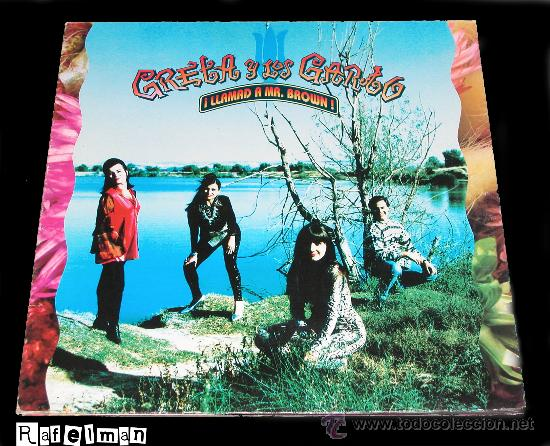 GRETA Y LOS GARBO - ¡LLAMAD A MR BROWN! - L.P. 33 R.P.M. - (Música - Discos - LP Vinilo - Grupos Españoles de los 90 a la actualidad)