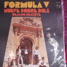 Dischi in vinile: FORMULA V-SINGLE 45RPM-1971-NUEVE SOBRE DIEZ-DEJAME DECIRTE-PHILIPS-. Lote 24703206