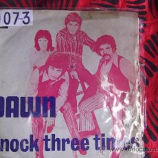 Discos de vinilo: DAWN-SINGLE 45 RPM-1971-LLAMA TRES VECES-HOME--EMI-. Lote 24706125