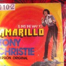Discos de vinilo: TONY CHRISTIE-AMARILLO-LOVE IS A FRIEND ...-SINGLE 45 RPM-1972-MCA-. Lote 24794486