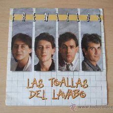 Discos de vinilo: FRENILLOS - SINGLE VINILO HISPAVOX 1988 - LAS TOALLAS DEL LAVABO / SI ME DEJAS DE QUERER. Lote 24701763