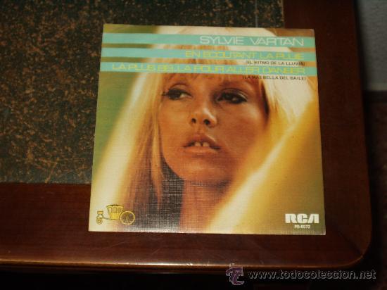 SYLVIE VARTAN SINGLE EL RITMO DE LA LLUVIA EDICION RARA (Música - Discos - Singles Vinilo - Canción Francesa e Italiana)