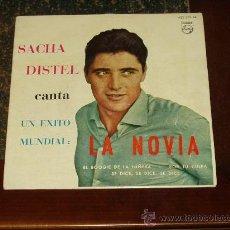 Discos de vinilo: SACHA DISTEL EP LA NOVIA+3. Lote 24703304