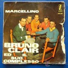 Discos de vinilo: MARCELLINO Y EL CONJUNTO B RUNO CLAIR - 1959. Lote 24730635
