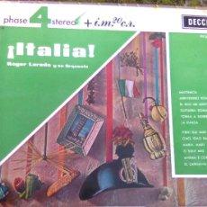 Discos de vinilo - Funda vacía de... Italia.. por roger Laredo y su orquesta (Decca, 1966) - 24742542
