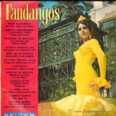 Discos de vinilo: FANDANGOS PEPE MARCHENA NIÑA DE LA PUEBLA ANTONIO PIÑANA FOSFORITO EL NIÑO LEON CARMEN FLORES. Lote 24757834