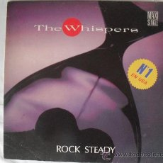 Discos de vinilo: THE WHISPERS- ROCK STADY MAXI SINGLE 45 RPM 1.988 . Lote 27349670